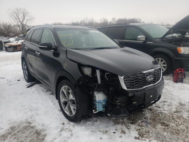 Salvage cars for sale from Copart Des Moines, IA: 2019 KIA Sorento EX