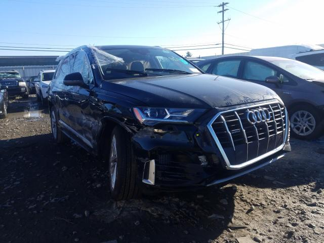 Salvage cars for sale from Copart Windsor, NJ: 2021 Audi Q7 Premium