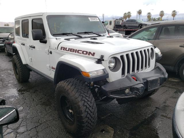 Salvage cars for sale from Copart Colton, CA: 2019 Jeep Wrangler U