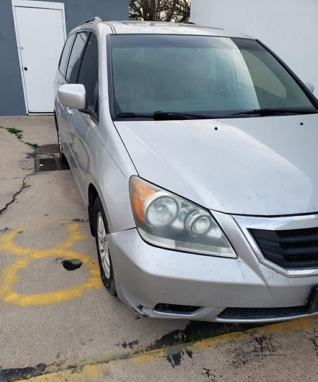 Salvage cars for sale from Copart Temple, TX: 2010 Honda Odyssey EX