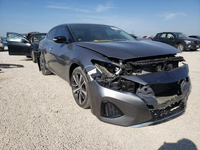 Salvage cars for sale from Copart San Antonio, TX: 2019 Nissan Maxima S