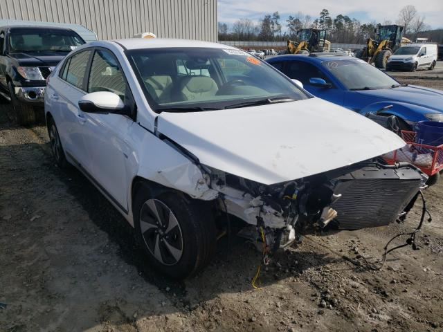 Salvage cars for sale from Copart Spartanburg, SC: 2019 Hyundai Ioniq SEL