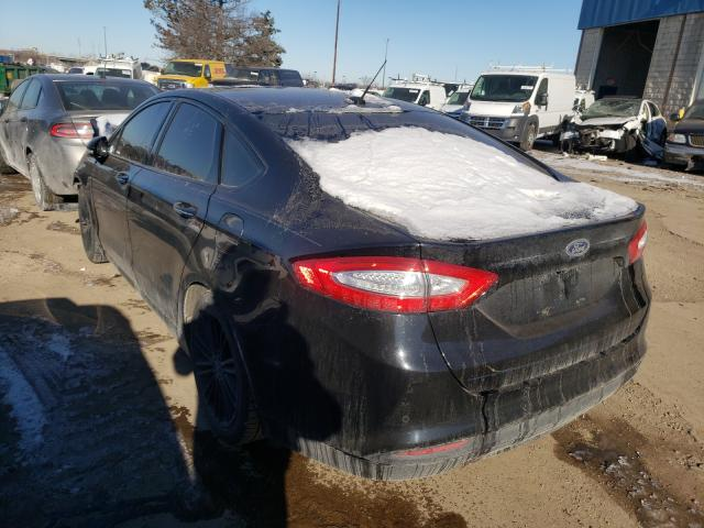 2016 FORD FUSION SE - Right Front View