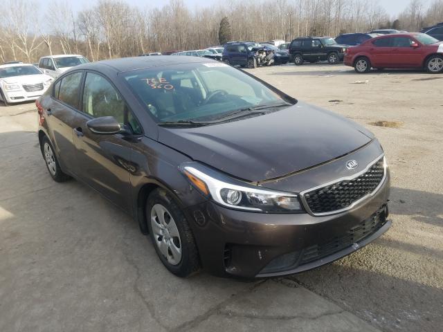Salvage cars for sale from Copart Lawrenceburg, KY: 2017 KIA Forte LX
