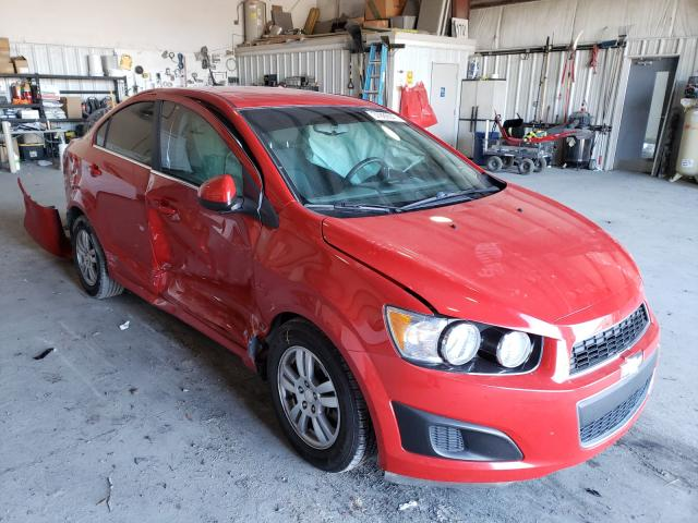 Salvage 2012 CHEVROLET SONIC - Small image. Lot 31989641
