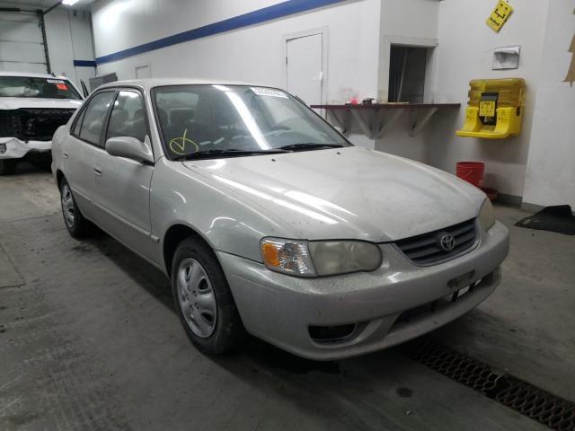 Salvage cars for sale from Copart Pasco, WA: 2001 Toyota Corolla CE