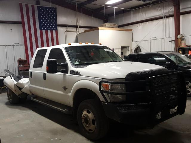 Salvage cars for sale from Copart Billings, MT: 2015 Ford F350 Super