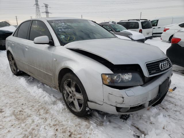 Salvage cars for sale from Copart Elgin, IL: 2005 Audi A4 3.0 Quattro