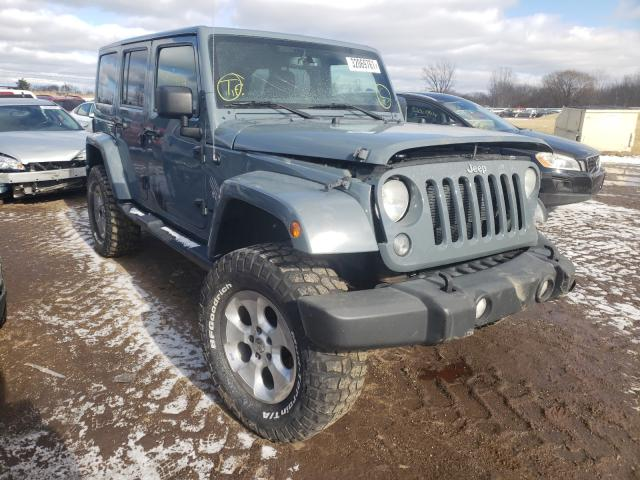 Salvage cars for sale from Copart Columbia Station, OH: 2014 Jeep Wrangler U