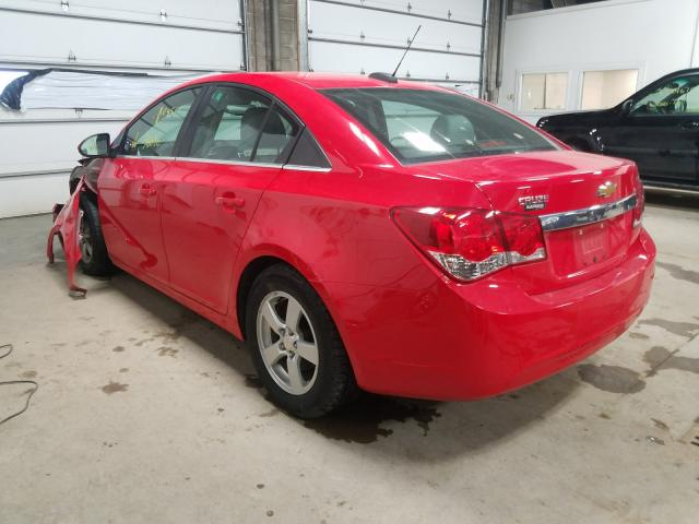 2015 CHEVROLET CRUZE LT - Right Front View