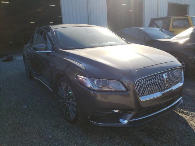 Lincoln salvage cars for sale: 2017 Lincoln Continental