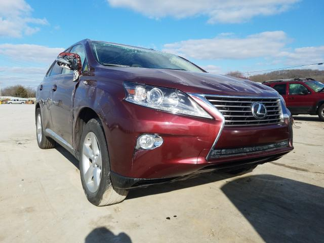 Salvage cars for sale from Copart Lebanon, TN: 2015 Lexus RX 350