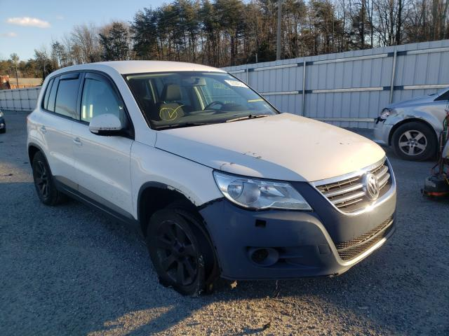 Salvage cars for sale from Copart Fredericksburg, VA: 2010 Volkswagen Tiguan SE