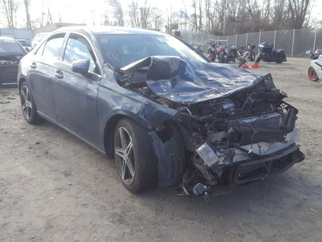 Salvage cars for sale from Copart Baltimore, MD: 2019 Mercedes-Benz A 220