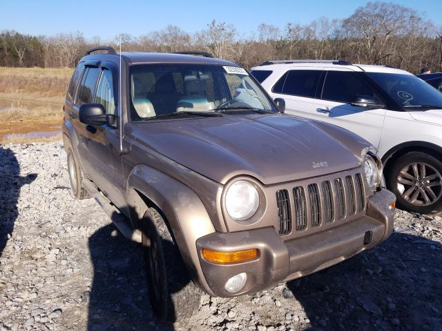 Jeep salvage cars for sale: 2002 Jeep Liberty LI