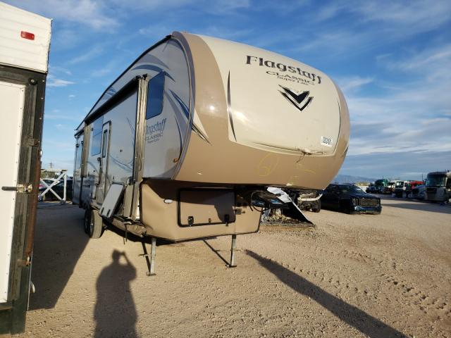 Salvage cars for sale from Copart Tucson, AZ: 2018 Flagstaff Travel Trailer