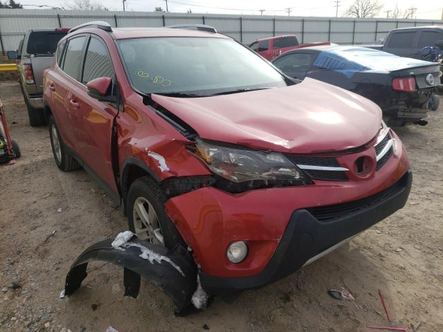 Salvage cars for sale from Copart Oklahoma City, OK: 2013 Toyota Rav4 XLE