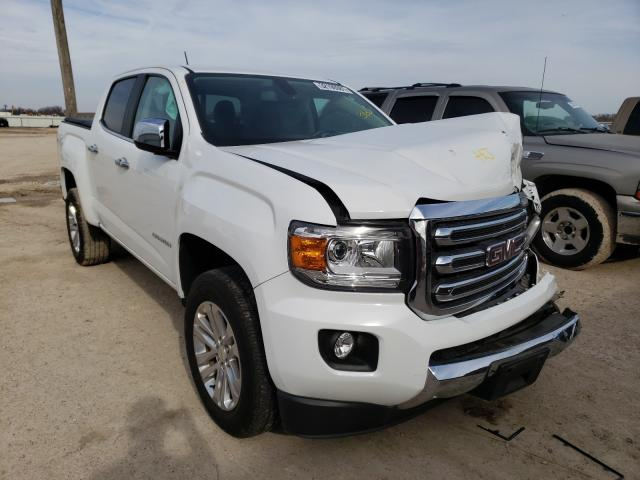 Salvage cars for sale from Copart Temple, TX: 2016 GMC Canyon SLT