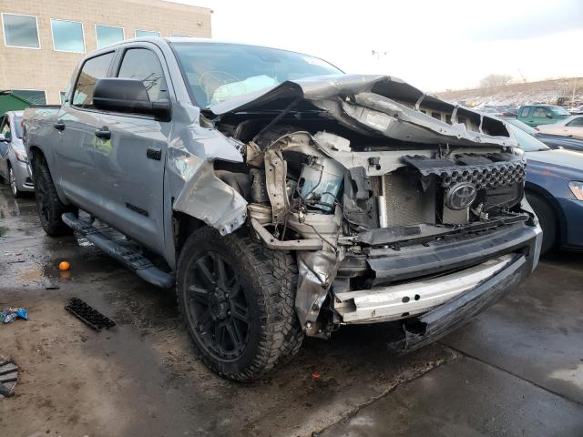 Salvage cars for sale from Copart Littleton, CO: 2020 Toyota Tundra CRE