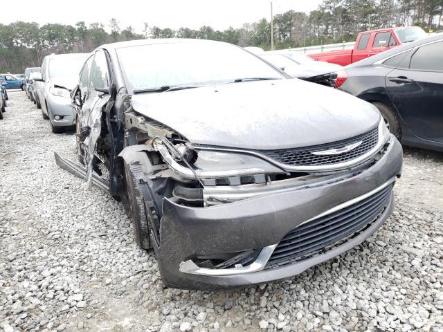 Salvage cars for sale at Ellenwood, GA auction: 2015 Chrysler 200 Limited