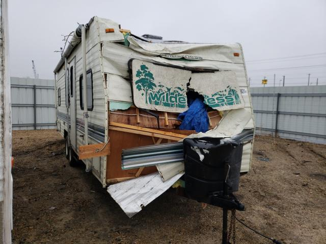Fleetwood Trailer salvage cars for sale: 1994 Fleetwood Trailer