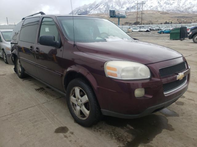 Salvage cars for sale from Copart Farr West, UT: 2007 Chevrolet Uplander L