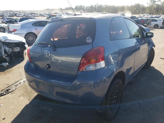 2010 TOYOTA YARIS - Right Rear View
