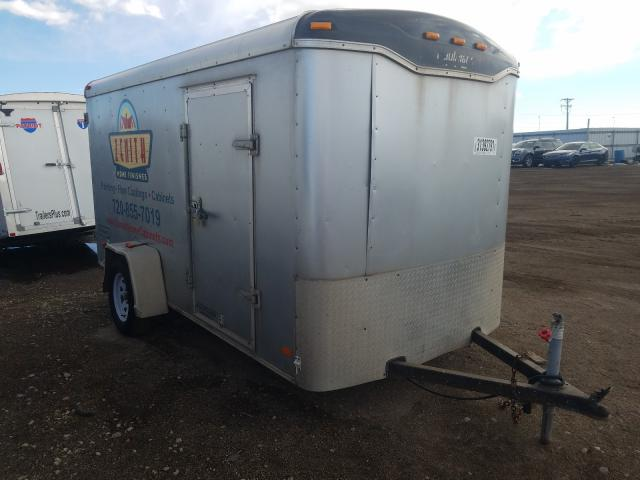 Haulmark salvage cars for sale: 2010 Haulmark Cargo Trailer
