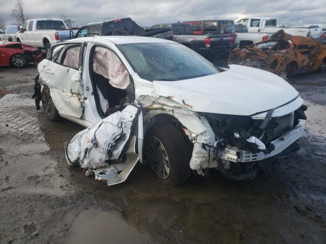 Salvage cars for sale from Copart Eugene, OR: 2017 Honda Civic LX