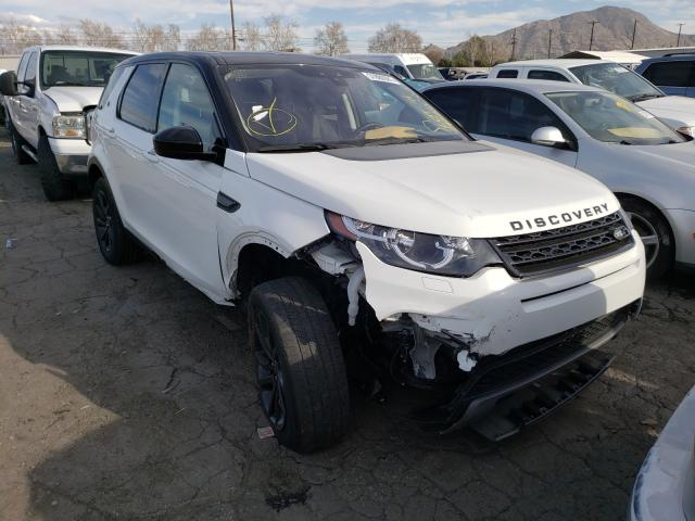Salvage cars for sale from Copart Colton, CA: 2017 Land Rover Discovery