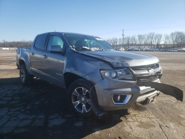 Salvage cars for sale from Copart Lexington, KY: 2018 Chevrolet Colorado Z