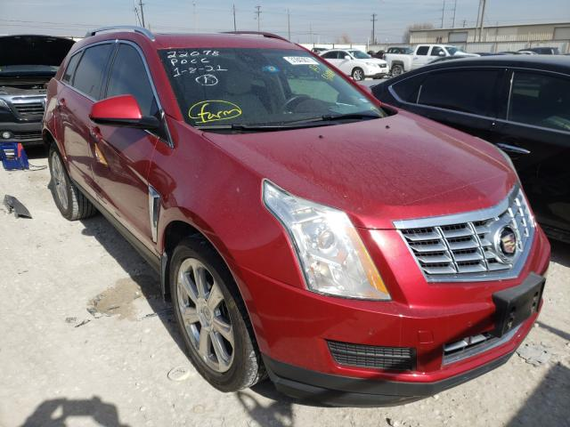Salvage cars for sale from Copart Haslet, TX: 2016 Cadillac SRX Luxury