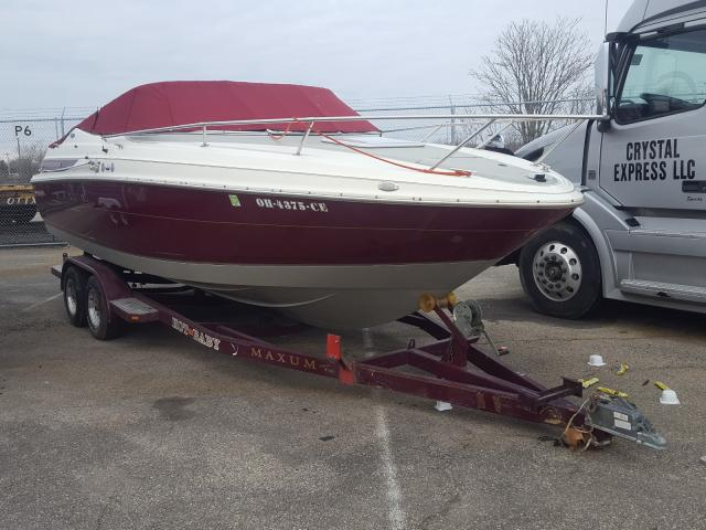 Maxum salvage cars for sale: 1998 Maxum Boat