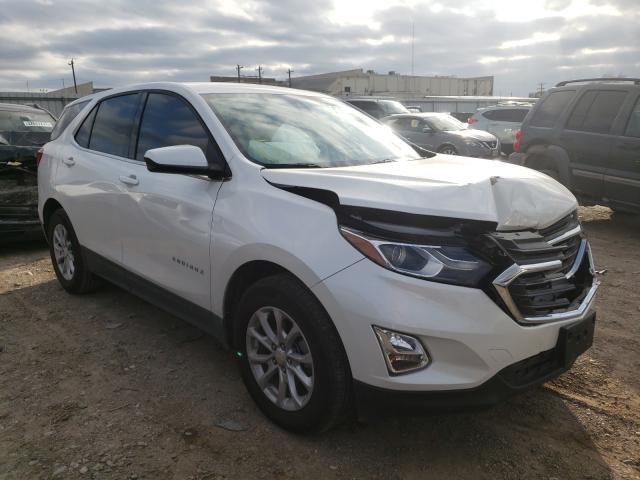 Salvage cars for sale from Copart Mercedes, TX: 2020 Chevrolet Equinox LT