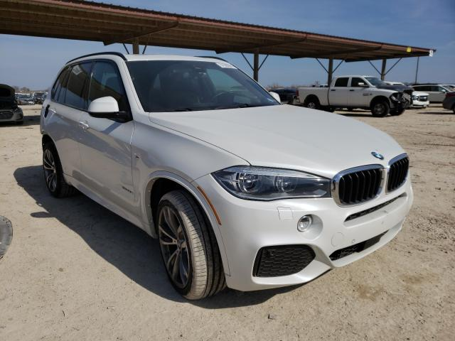 Salvage cars for sale from Copart Temple, TX: 2016 BMW X5 XDRIVE3