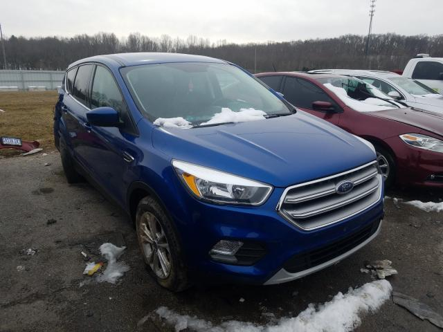Salvage cars for sale from Copart Lawrenceburg, KY: 2017 Ford Escape SE