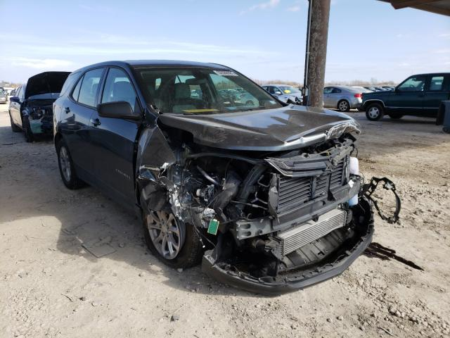 Salvage cars for sale from Copart Temple, TX: 2018 Chevrolet Equinox LS