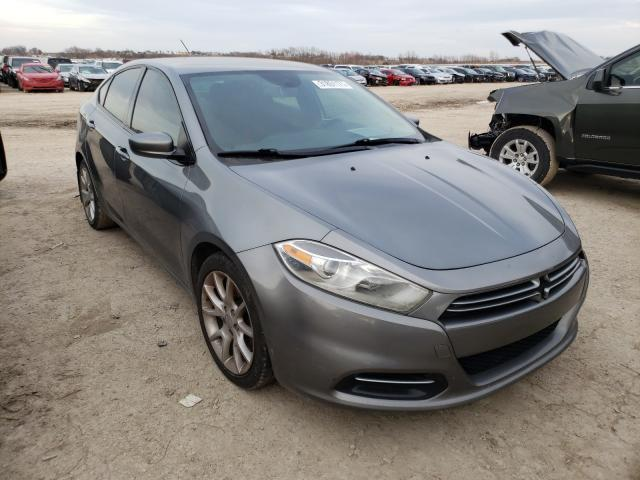Salvage cars for sale from Copart Temple, TX: 2013 Dodge Dart SXT
