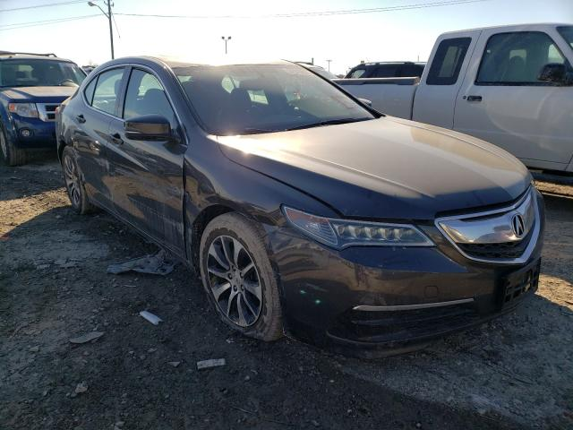 Salvage cars for sale from Copart Indianapolis, IN: 2016 Acura TLX