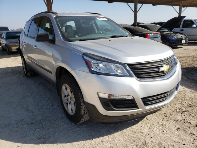 Salvage cars for sale from Copart Temple, TX: 2017 Chevrolet Traverse L