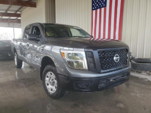 Nissan salvage cars for sale: 2018 Nissan Titan XD S