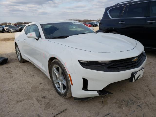 Salvage cars for sale from Copart Temple, TX: 2021 Chevrolet Camaro LS