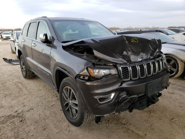 Salvage cars for sale from Copart Temple, TX: 2018 Jeep Grand Cherokee