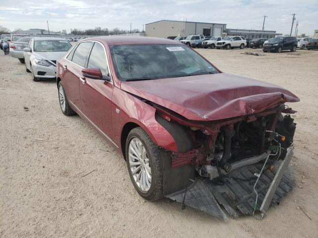 Salvage cars for sale from Copart San Antonio, TX: 2018 Cadillac CT6