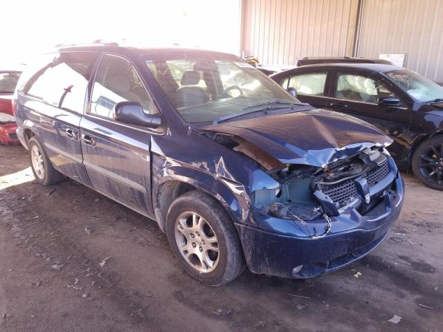 Vehiculos salvage en venta de Copart Fort Wayne, IN: 2002 Dodge Grand Caravan
