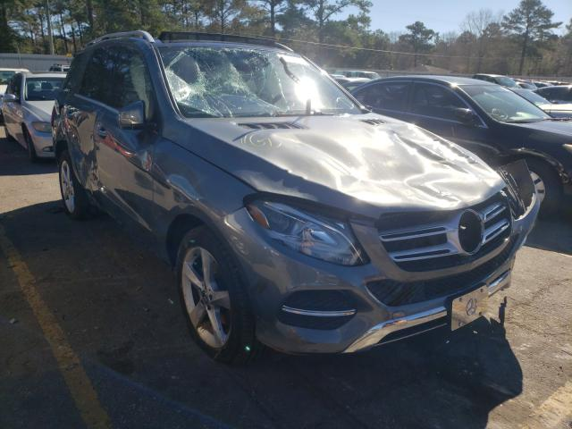 Salvage cars for sale from Copart Eight Mile, AL: 2017 Mercedes-Benz GLE 350