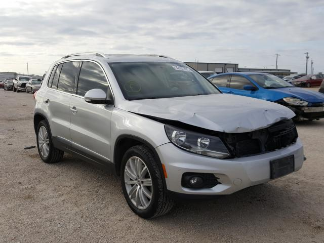 Salvage cars for sale from Copart San Antonio, TX: 2013 Volkswagen Tiguan S