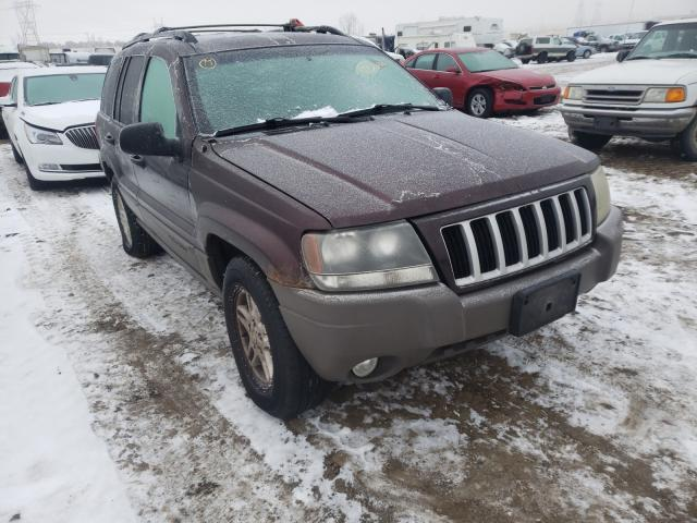 Salvage cars for sale from Copart Billings, MT: 2004 Jeep Grand Cherokee