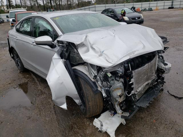 Salvage 2018 FORD FUSION - Small image. Lot 32667701