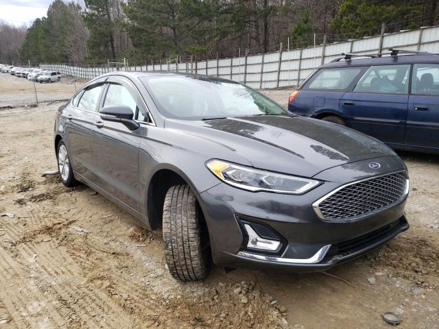 Salvage cars for sale from Copart Gainesville, GA: 2020 Ford Fusion Titanium